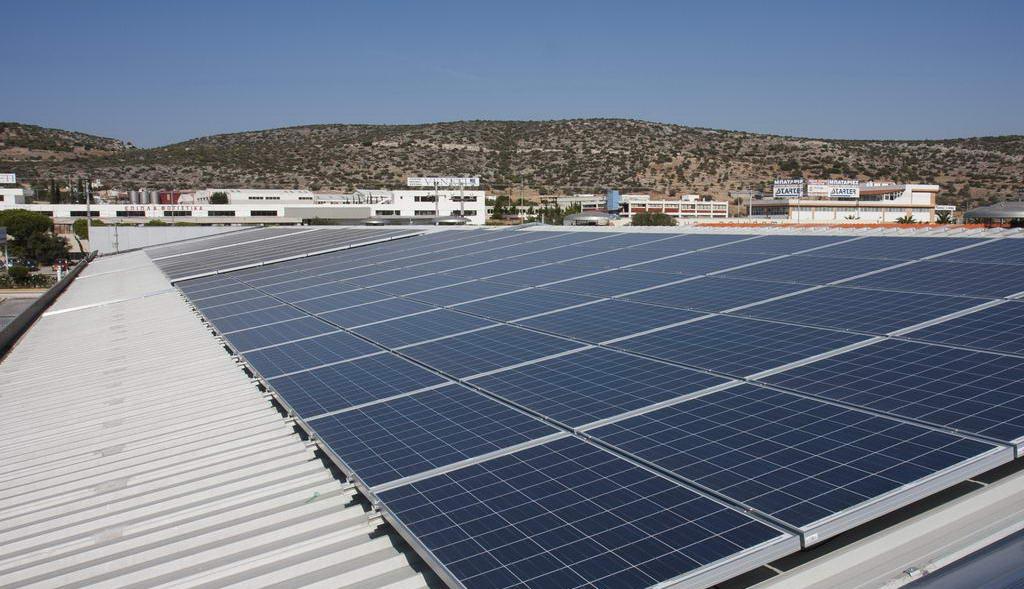Φωτοβολταϊκός σταθμός 100 kWp στο Κορωπί