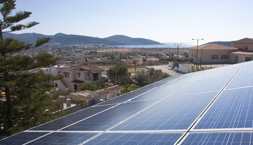 Οικιακό φωτοβολταϊκό σύστημα 7.4 kW στην Ανάβυσσο