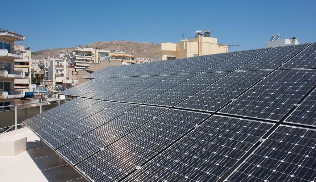 Οικιακό φωτοβολταϊκό σύστημα 10kW στον Κορυδαλλό