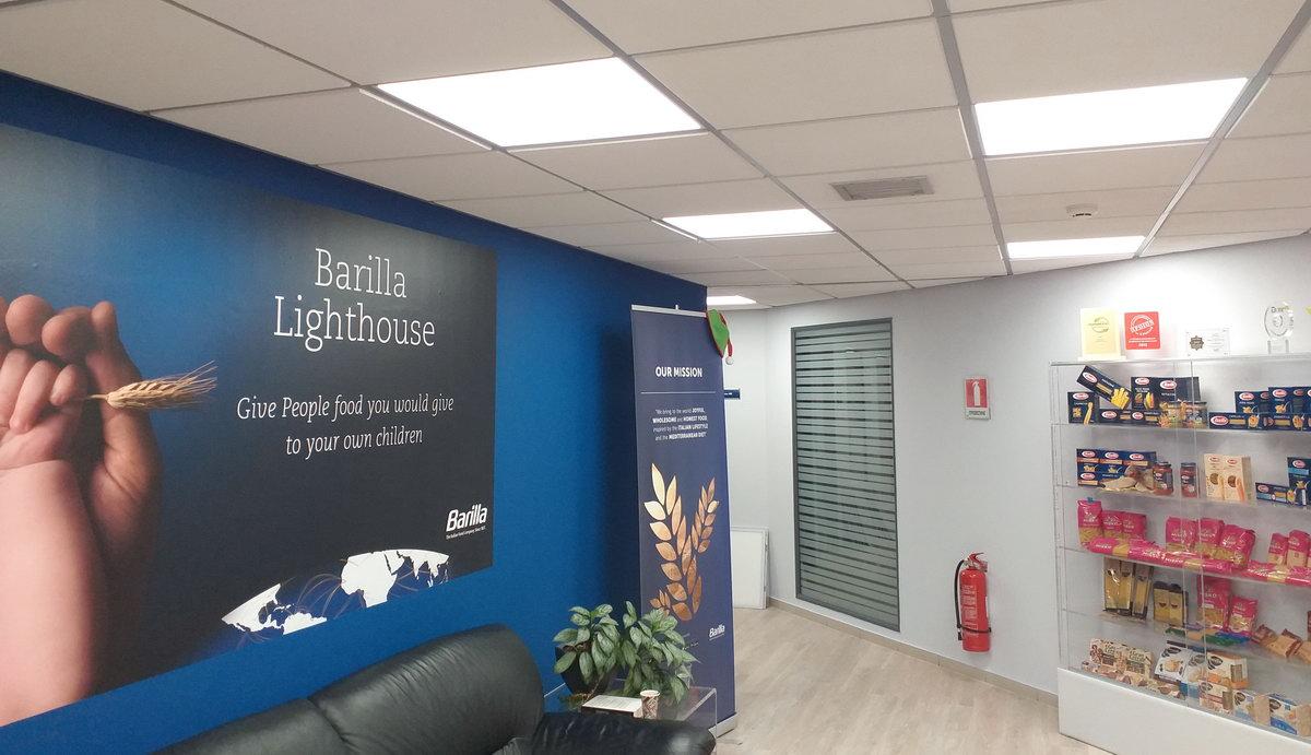 Φωτισμός LED – Γραφεία BARILLA HELLAS S.A.